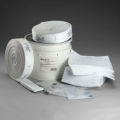 P-SKFL5 3M วัสดุดูดซับน้ำมันและสารเคมีเหลวที่ไม่ละลายน้ำ แบบม้วนพับทบ (กว้าง5นิ้วXยาว 26ฟุต)