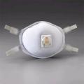3M 8512 N95 หน้ากากสำหรับงานเชื่อมโลหะ แบบปรับสายรัดได้ พร้อมวาล์วระบายอากาศ