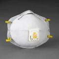 3M 8516 N95 หน้ากากป้องกันฝุ่นละออง กลิ่นเจือจางของไอกรด พร้อมวาล์วระบายอากาศ