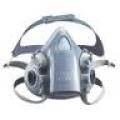 3M 8613 หน้ากากป้องกันฝุ่นละออง กลิ่นเจือจางของไอสารตัวทำละลายพร้อมวาล์วระบายอากาศ