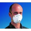 3M 8812 หน้ากากป้องกันฝุ่นและละอองขนาดเล็ก มีวาล์ระบายอากาศ