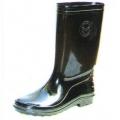 A29BK รองเท้าบู๊ทพีวีซี สีดำ สูง 12.6  นิ้ว