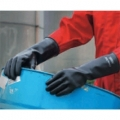 38-514 ANSELL CHEMTEX   ถุงมือป้องกันสารเคมีเข้มข้น  ยาว 14 นิ้ว Chemical Resistant Gloves