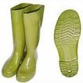 TWG160 รองเท้าบู๊ทยางไม่มีผ้าซับ สีเขียวขี้ม้า 15นิ้ว