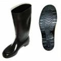 TWN150 รองเท้าบู๊ทยางไม่มีผ้าซับ สีดำ สูง13นิ้ว
