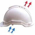 J1P หมวกนิรภัย S-GUARD มีรูระบายอากาศ ปรับเลื่อน