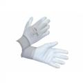 S-MK110 ถุงมือไนล่อนเคลือบpolyurethaneสีขาว