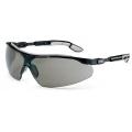 9160 076 แว่นตานิรภัย Uvex รุ่น I-VO กรอบดำเทา เลนส์สีเทา NC