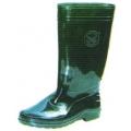 A49G รองเท้าบู๊ทยาง สีเขียว สูง 10 นิ้ว (พีวีซี)