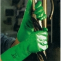 37-185 ANSELL SOLVEX ถุงมือไนไตร ยาว 18นิ้ว Chemical Resistant Gloves