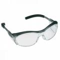 11411 แว่นตานิรภัย Ao Safety รุ่น Nuvo Translucents เลนส์ใส กรอบสีเทา