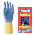 DOUBLE STRENGTH C  ถุงมือ Ansell ถุงมือยางผสมนีโอพรีนชนิดหนา Household Gloves