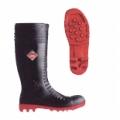 8808 รองเท้าบู๊ทDunlop หัวเสริมเหล็ก พื้นสีแดง