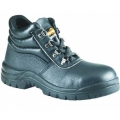 FWIA213149 BK รองเท้านิรภัยหุ้มข้อตาไก่ หนังสีดำ ยี่ห้อ Krushers รุ่น Junee