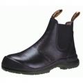 KWD806 รองเท้านิรภัย King หุ้มข้อสีดำ ชนิดสวม หัวเหล็ก