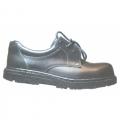 TWK201 รองเท้านิรภัยหุ้มส้นหนังเรียบ