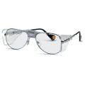 9150 005 กรอบแว่นตานิรภัย Uvex รุ่น Comfort กรอบโลหะสีเงิน