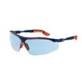 9160 064 แว่นตานิรภัย UVEX รุ่น I-VO กรอบฟ้าส้ม เลนส์ฟ้า  NC