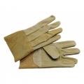 PRIPTIG ถุงมือหนังหมูสั้นงานเชื่อมอาร์กอน